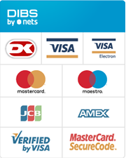 We accept these creditcards