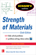 Schaum's Outline of Strength of Materials, 6ed, 6. udgave