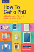 EBOOK: How to Get a PhD: A Handbook for Students and their Supervisors, 6. udgave