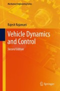 Vehicle Dynamics and Control, 2. udgave