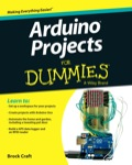 Arduino Projects For Dummies, 1. udgave