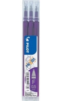 Refill for purple Frixion Clicker pen 0,5mm - 3 stk./3 pcs.