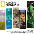 miniaturebillede af omslaget til National Geographic 3-D Bookmark - Cat-eyed Snake varenr.