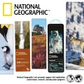 miniaturebillede af omslaget til National Geographic 3-D Bookmark - Gray Wolf