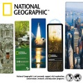 miniaturebillede af omslaget til National Geographic 3-D Bookmark - Spider on Web varenr.
