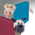 miniaturebillede af omslaget til Book-tails bookmarks, pig