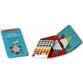 miniaturebillede af omslaget til Chinese Checkers Travel Game Vare.nr: PUR90346