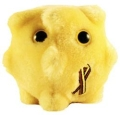 miniaturebillede af omslaget til GIANTmicrobes - HCV Hepatitis C virus lille (Hepatitis C)