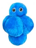 GIANTmicrobes - Staphylococcus aureus lille (Gule stafylokokker)