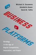 miniaturebillede af omslaget til The Business of Platforms - Strategy in the Age of Digital Competition, Innovation, and Power