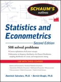 Schaum's Outline of Statistics and Econometrics, Second Edition
