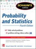miniaturebillede af omslaget til Probability and Statistics - 897 Fully Solved Problems, 4. udgave