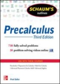 Schaum's Outline of Precalculus, 3rd Edition - 738 Solved Problems + 30 Videos, 3. udgave