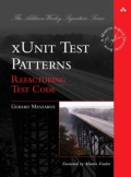 miniaturebillede af omslaget til xUnit Test Patterns - Refactoring Test Code