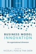 miniaturebillede af omslaget til Business Model Innovation - The Organizational Dimension