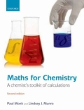 miniaturebillede af omslaget til Maths for Chemistry - A Chemist's Toolkit of Calculations, 2. udgave