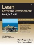 miniaturebillede af omslaget til Lean Software Development - An Agile Toolkit