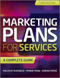 miniaturebillede af omslaget til Marketing Plans for Services - A Complete Guide