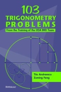 miniaturebillede af omslaget til 103 Trigonometry Problems - From the Training of the USA IMO Team, 1. udgave