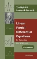 miniaturebillede af omslaget til Linear Partial Differential Equations for Scientists and Engineers, 4. udgave
