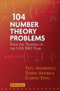 miniaturebillede af omslaget til 104 Number Theory Problems - From the Training of the USA IMO Team, 1. udgave