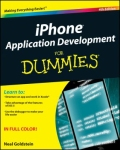 miniaturebillede af omslaget til iPhone Application Development for Dummies, 4. udgave