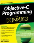 miniaturebillede af omslaget til Objective-C Programming for Dummies