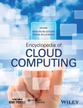 miniaturebillede af omslaget til Encyclopedia of Cloud Computing, 1. udgave