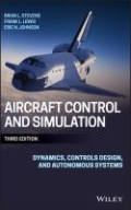 miniaturebillede af omslaget til Aircraft Control and Simulation - Dynamics, Controls Design, and Autonomous Systems, 3. udgave