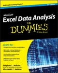 miniaturebillede af omslaget til Excel Data Analysis for Dummies®, 3. udgave