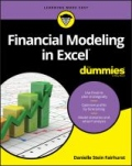miniaturebillede af omslaget til Financial Modeling in Excel for Dummies