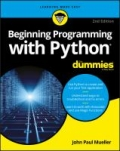 miniaturebillede af omslaget til Beginning Programming with Python for Dummies, 2. udgave