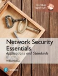 Network Security Essentials - Applications and Standards, Global Edition, 6. udgave