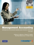 miniaturebillede af omslaget til Management Accounting - Information for Decision-Making and Strategy Execution Plus MyAccountingLab with Pearson EText, Global Edition, 6. udgave