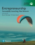 Entrepreneurship - Successfully Launching New Ventures, Global Edition