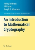An Introduction to Mathematical Cryptography, 1. udgave