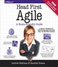 miniaturebillede af omslaget til Head First Agile - A Brain-Friendly Guide to Agile and the PMI-ACP Certification, 1. udgave