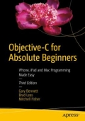 miniaturebillede af omslaget til Objective-C for Absolute Beginners - IPhone, IPad and Mac Programming Made Easy