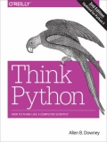 miniaturebillede af omslaget til Think Python - How to Think Like a Computer Scientist, 2. udgave
