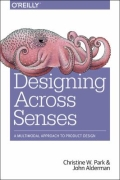 miniaturebillede af omslaget til Designing Across Senses - A Multimodal Approach to User Experience Design, 1. udgave
