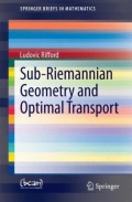 miniaturebillede af omslaget til Sub-Riemannian Geometry and Optimal Transport, 1. udgave