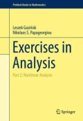 miniaturebillede af omslaget til Exercises in Analysis - Part 2: Nonlinear Analysis, 1. udgave