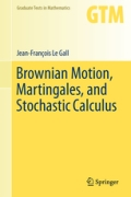 miniaturebillede af omslaget til Brownian Motion, Martingales, and Stochastic Calculus, 1. udgave