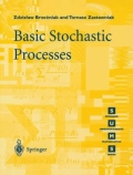 miniaturebillede af omslaget til Basic Stochastic Processes - A Course Through Exercises, 1. udgave