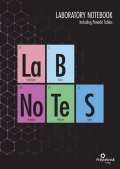 LAB Notes - laboratory notebook - incl. periodic  tables, 1. udgave