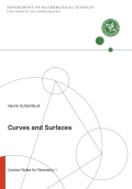 miniaturebillede af omslaget til Curves and Surfaces 2018 - Lecture Notes for Geometry 1