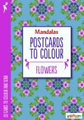 Mandala Postcards Flowers